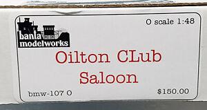 Banta ModelWorks #107 - O Scale - Oilton Club Saloon