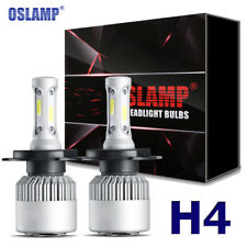 Oslamp H4 9003 980W COB LED Headlights Hi-Lo Beam Bulbs Kit 6000K HID Conversion