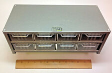 NEW- AKRO-MILS Cabinet Model J-8, METAL Cabinet w/ 8 Drawers USA MADE!