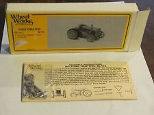 Wheel Works Ford Tractor HO scale Micro Engineering model kit NIB