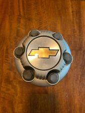 1999-2010 Chevrolet Silverado 1500 Silver Painted Wheel Center Cap 6 lug