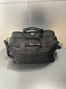 Victorinox Swiss Army Carry on Expandable Briefcase Laptop Messenger Tote Bag