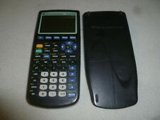 Texas Instruments Ti-83 Plus Calculator W Slide Case Cover Ti83 Graphing Black