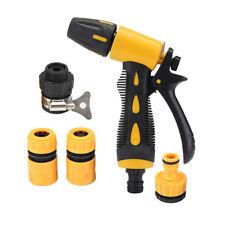 5pcs Hochdruck Spritzpistole Auto Gartenspritze waschen Wasser Gewehr Düse Spray