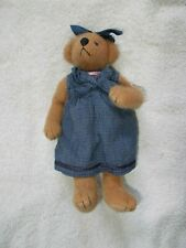 "Ganz Cottage Collectibles Plush Bear 8 1/2"" Mary Holstad"