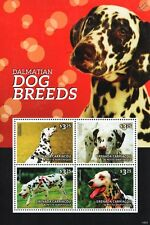 Dalmatian Dog 4-value Stamp Sheet (2014 Grenada)