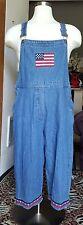 Womens Agapo Patriotic Carpenter Denin Jeans size L