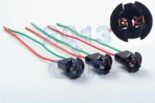 "GM 194 T10 Dashboard Panel Lights Bulb 1/2"" Socket Pigtail Wiring Harness 3PCS"