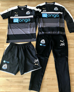 Newcastle United Trikot Matchworn Set Training Jersey Pants Track Top Puma