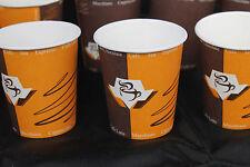 1000 stk Hartpapier Becher 0,2L Coffee to go  Kaffeebecher Pappbecher, 1a 0,2ml