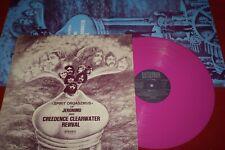 JERONIMO & CCR Spirit Orgaszmus /German Pink Vinyl LP + Poster BELLAPHON BI 1527