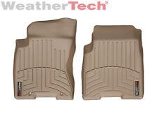 WeatherTech Floor Mats FloorLiner for Nissan Rogue/Rogue Select - 1st Row - Tan