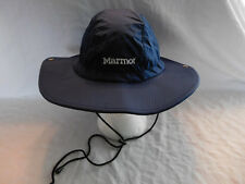 Marmot Rain Hat Cap Bucket Sombrero M / L Medium Large ? adjustable Blue
