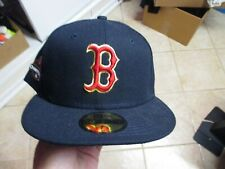 BOSTON RED SOX 2018 WORLD SERIES CHAMPS NEW ERA (5950) FITTED HAT (7 1/8) NW $40