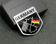 Metal Germany DE Racing Sport Motorsport Emblems Emblem Badge Sticker  For BMW