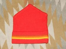 Moriarty Hat - Red Yellow Orange - Knit Winter Hat