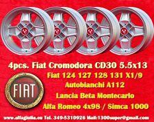 4 Cerchi CD30 Cromodora Abarth Fiat Lancia Alfa Romeo Wheels Felgen Jantes TUV