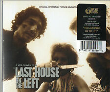 David Hess Last House on the Left CD OST One Way Static Wes Craven Video Nasty