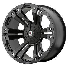 18x9 Black wheels rims XD778 MONSTER Toyota Tundra 2007-2018 only 5x150 +35mm