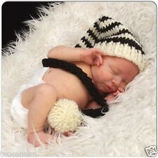 Crochet Newborn Baby Weg Longtail Elf Hut-photo prop