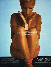 PUBLICITE ADVERTISING 024   1974   MYON   briquet