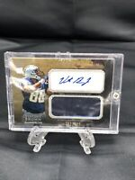 2011 Topps Inception Vincent Brown #AJP-VB Auto Jersey 382/599 Rookie Chargers