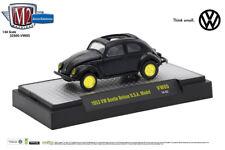 M2 Machines Auto Thentics Release VW05 1:64 1953 VW Beetle USA Model Gloss Black