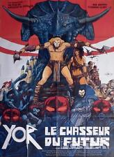 YOR THE HUNTER FROM THE FUTURE - SWORD / DRUILLET - ORIGINAL LARGE MOVIE POSTER