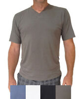 PACKS Mens Bamboo Short-Sleeve T-shirts, Organic tees + Fast & Free Postage!