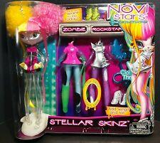 Novi Stars Gail Zombie Doll Stellar Skinz Skeleton CiCi Thru Skin Rock Star Nova