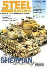 Steel Masters N°174 - Revue neuve - Quel Sherman êtes vous ?