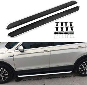 Fit for Volkswagen VW Tiguan 2017-2021 Door Side Step Running Board Nerf Bar