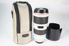 Canon Zoom Lens EF 70-200mm f2.8L IS II USM Objektiv Kratzer an der Frontlinse!