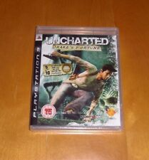Uncharted Drake's Fortune, Black Label, PS3 - New & Sealed  (UK PAL)