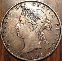 1898 CANADA SILVER 50 FIFTY CENTS IN GREAT CONDITION !