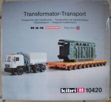 Kibri 10420 H0 1:87 MAN SCHEUERLE TRANSFORMATOR TRANSPORT Rarität