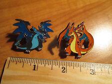 NM Mega M CHARIZARD EX Metal PIN/BADGE Pokemon Flashfire Blister 69-107-108/106