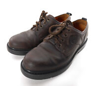 Timberland Leather Oxford Nubuck Shoes Mens Sz 8 Brown 95040 Lace-up CL