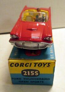Corgi Toys, 215S Ford Thunderbird Open Sports,     original