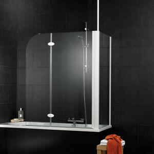 Duschabtrennung Schulte Sunny Badewannenaufsatz mit Seitenwand für 750 er Wannen