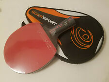 BOER Ping Pong Table Tennis Racket Paddle Bat (Short Handle) (Fast Shipping)