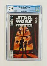 🔥 Star Wars: The Clone Wars #1 CGC 9.2 NM- (Dark Horse 2008) 1st Ahsoka Tano WP