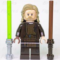 New Star Wars LEGO® Luke Skywalker Old Jedi Master Dark Brown Robe Minifig 75245