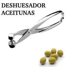 TENAZA EXTRACTOR PARA HUESOS DE ACEITUNA(DESHUESADOR ACEITUNAS METALICO ROBUSTO)