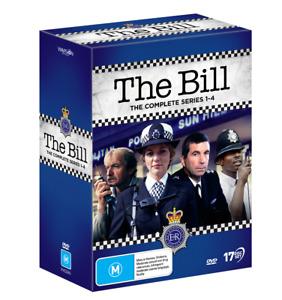 BRAND NEW The Bill : Complete Series 1-4 (DVD, 17-Disc Set) R4 Season
