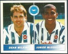 PANINI FOOTBALL LEAGUE 95 -#409-BRIGHTON-DEAN WILKINS / JUNIOR McDOUGALD