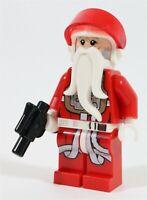 LEGO STAR WARS SANTA YULETIDE PILOT MINIFIGURE X-WING - MADE OF GENUINE LEGO