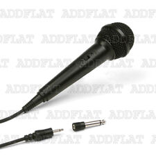Digital Sound Professional Microphone with 6ft (183cm) Cord, plug 3.5mm 6.3mm