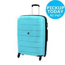 It Luggage Asteroid Large 4 Wheel Hard Suitcase - Ice Blue