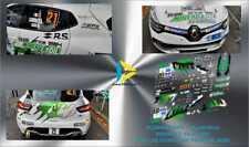 Décal 1/43 RENAULT CLIO R3T CARMINATI RALLYE COEUR DE FRANCE 2019